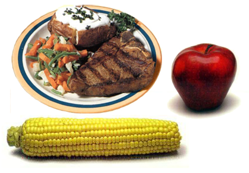 Foods that are difficult to eat with dentures, but simple to eat with Dental Implants